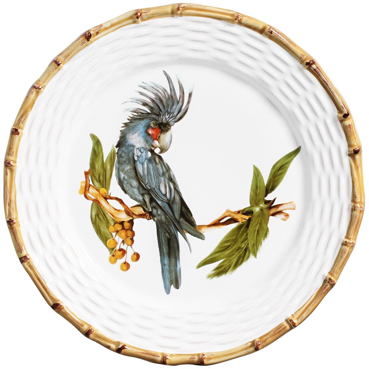 Aparelho De Jantar Tropical Maison Blanche Decor 18 Peças