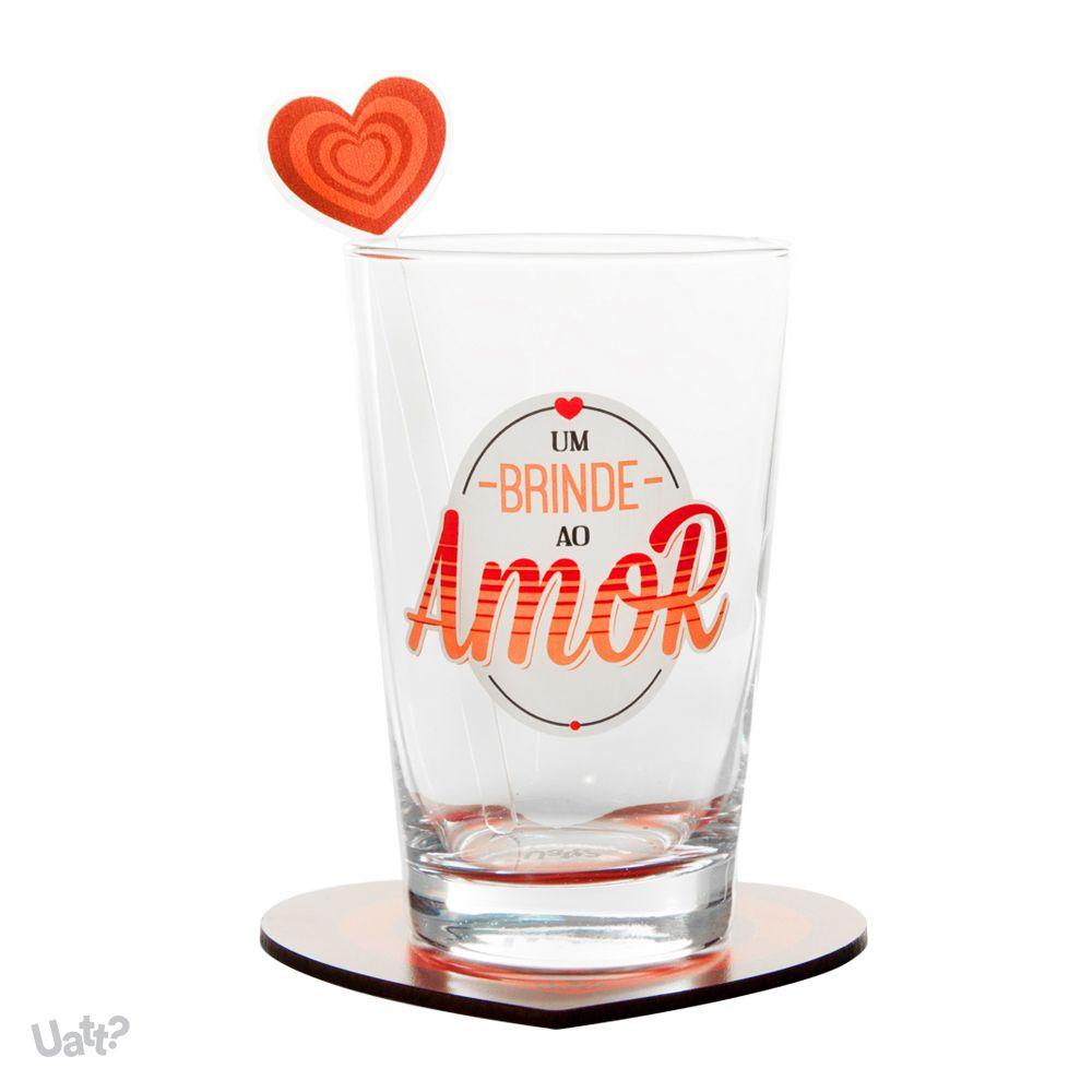 Conjunto Drink Um Brinde ao Amor Uatt ?