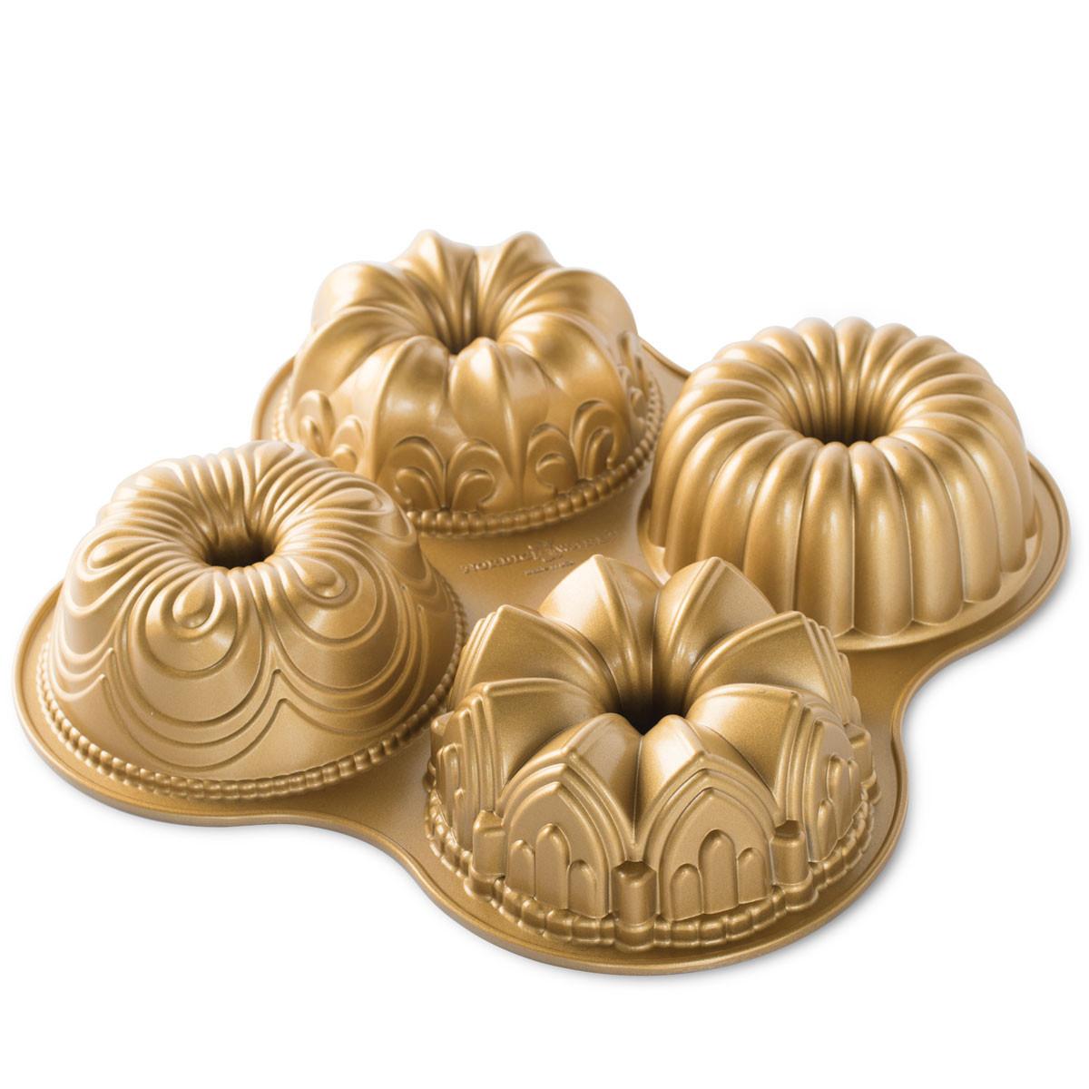 Mini Formas Para Bolo Nordic Ware Bundt Quartet Pan