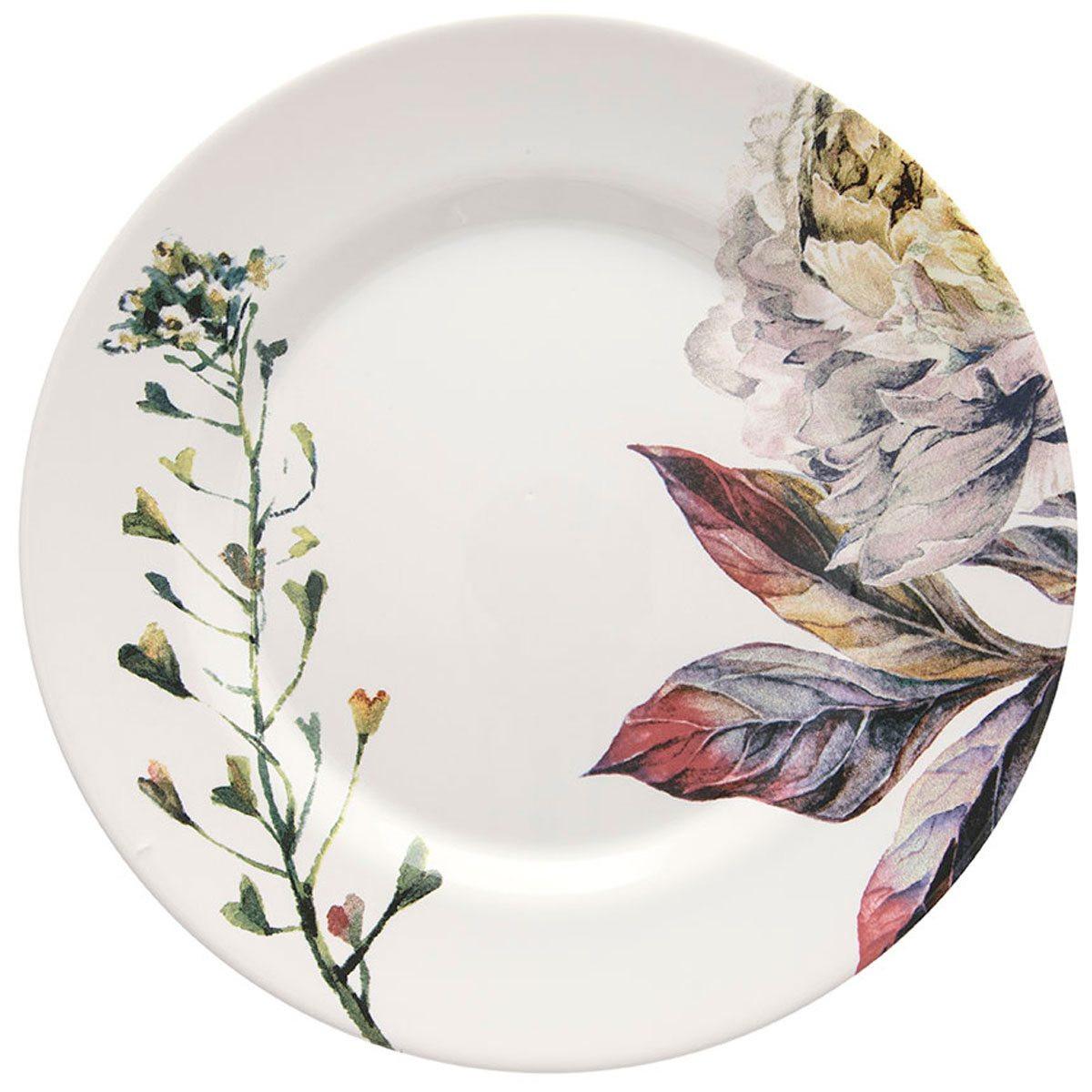 Aparelho de Jantar Cerâmica Aquarelle Giardino 30 Peças