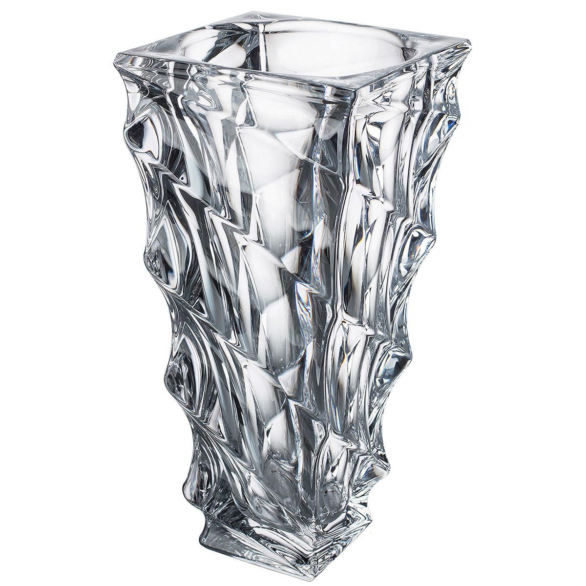 Vaso De Cristal Titânio Bohemia Casablanca
