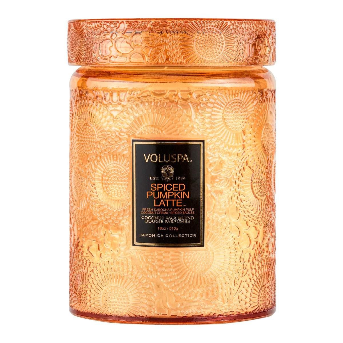 Vela Relevo Spiced Pumpkin Latte Voluspa 100H