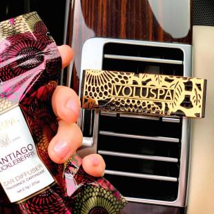 Difusor De Aromas Para Carro Baltic Amber Voluspa