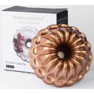 Forma Para Bolo Marissa Lounina Fountain