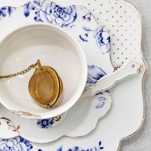 Colheres De Porcelana Royal White Pip Studio