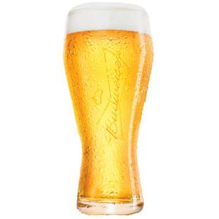 Conjunto 2 Copos Para Cerveja Budweiser 400ml