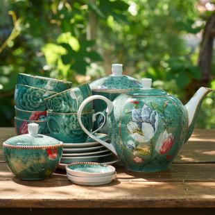 Conjunto 2 Xícaras de Chá Spring To Life Verde Pip Studio