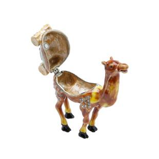 Mini Porta Joias Camelo
