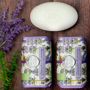 Sabonete Em Barra Lavender Rosemary Michel Design Works