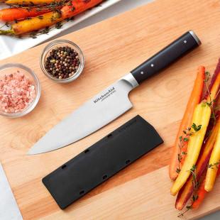Faca Do Chef Inox Kitchenaid  34 Cm