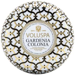 Vela Lata 2 Pavios Gardenia Colonia Voluspa 50H
