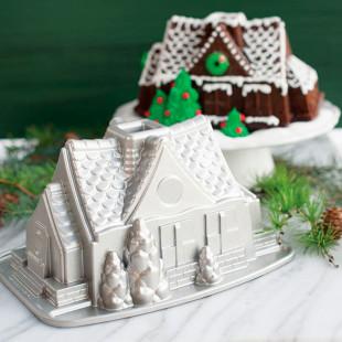 Forma Para Bolo Nordic Ware Gingerbread House