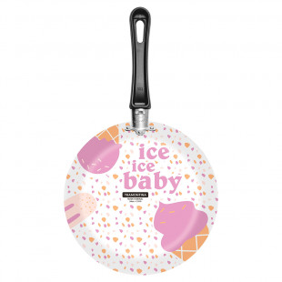 Frigideira Estampada Branca Alumínio Vivacor Ice Baby Tramontina