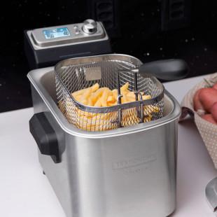 Fritadeira Elétrica Tramontina by Breville Smart Aço Inox