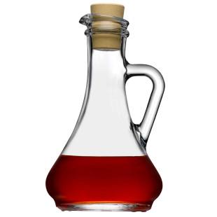 Galheterio De Vidro MIlam Para Azeite Ou Vinagre