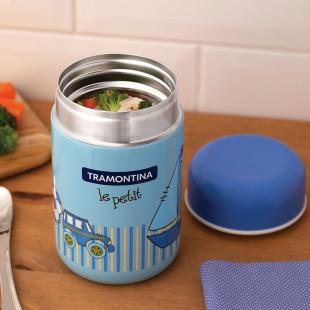 Pote Térmico Tramontina Le Petit Azul 400 ml