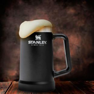 Caneca Térmica Stanley De Cerveja Black 709 Ml