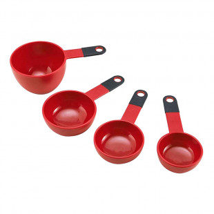 Jogo 4 Xícaras Medidoras Kitchenaid Vermelha