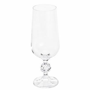 Jogo 6 Taças De Cerveja Cristal Klaudie Sterna Bohemia 280ml