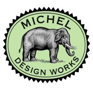 Saboneteira De Vidro Peony Michel Design Works