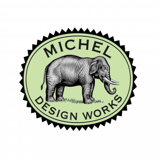 Sabonete em Barra Peony Michel Design Works