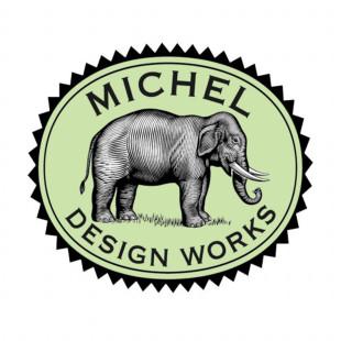 Bandeja De Madeira Vanity Peppermint Michel Design Works