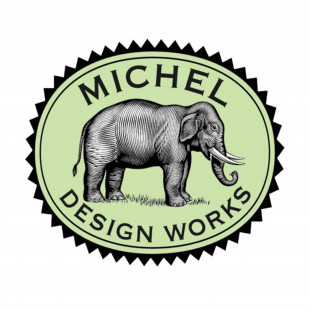 Travessa De Melamina Garden Melody Michel Design Works