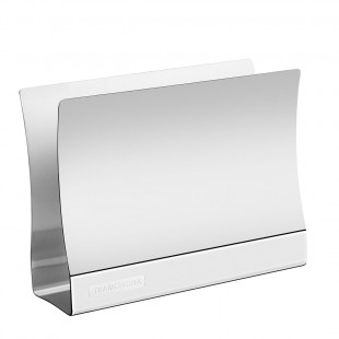 Porta Guardanapos Quadrata Tramontina Aço Inox Brilho