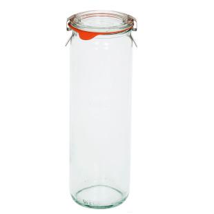 Pote de Vidro Weck Cilíndrico 600 ml