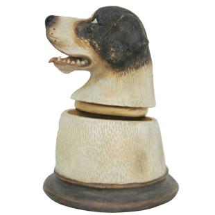 Pote Busto Cachorro Labrador De Resina