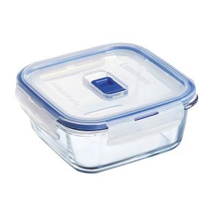 Pote Quadrado De Vidro Pure Box Luminarc 760 ml