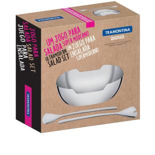 Saladeira Inox Quadrata Tramontina
