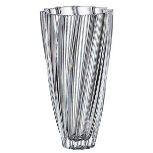 Vaso De Cristal Scallop Bohemia M