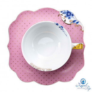 Xícara de Chá Rosa Royal Pip Studio