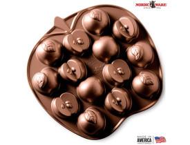 Forma Para Bolo Nordic Ware Apple Slice Cakelet Pan Original USA