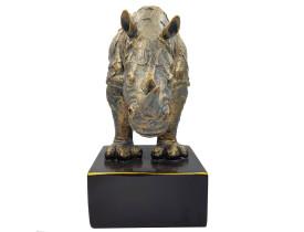 Rinoceronte De Resina Manhattan