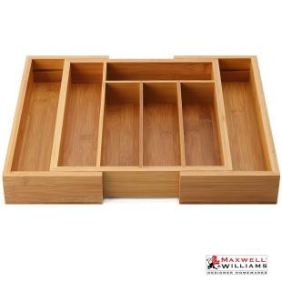Porta Talheres Extensível de Bambu Maxwell & Williams