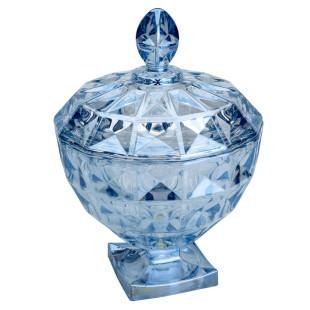 Bomboniere De Cristal Diamant Azul Wolff