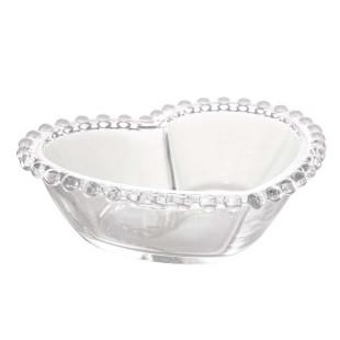 Bowl De Coração Cristal Pearl Wolff