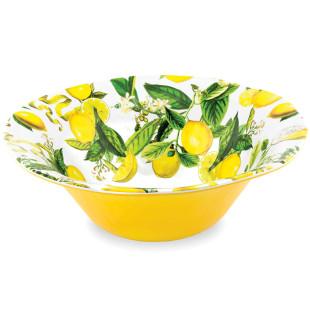 Saladeira De Melamina Lemon Basil Michel Design Works