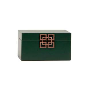 Caixa Decorativa Verde Sibéria Limoeiro P