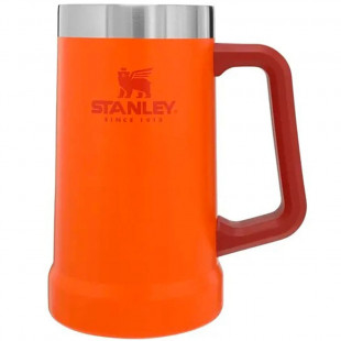 Caneca Térmica Stanley De Cerveja Orange 709 Ml