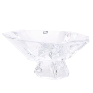 Centro De Mesa Cristal Angle Bohemia