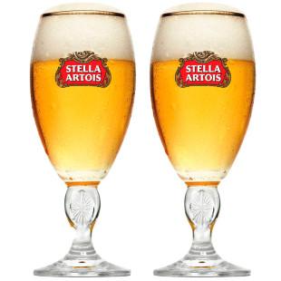 Conjunto 2 Taças Para Cerveja Stella Artois 250Ml