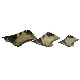 Conjunto de Petisqueira de Cerâmica Vacas