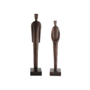 Kit Esculturas Poliresina Homens Em Pé
