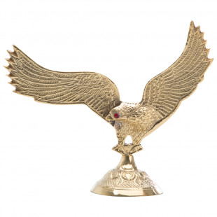 Estatua Decorativa Águia De Ferro
