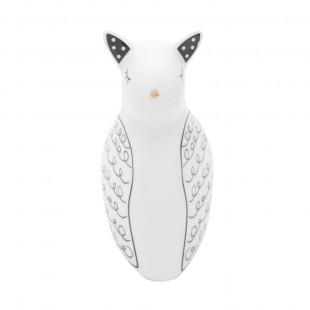 Estatueta Gato Lovely Decorativo Em Porcelana