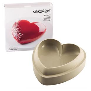 Forma De Silicone 3D Silikomart Batticuore