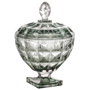 Bomboniere De Cristal Diamant Verde Wolff